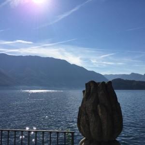 Blues&lights at lake Como