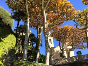 Fall at Balbianello
