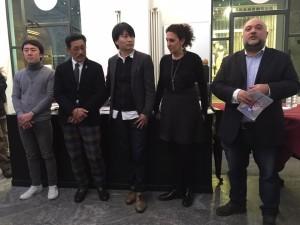 Inaugurazione Hitokama Art manga Show