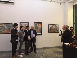 Inaugurazione Hitokoma Arta Manga Show alla MAG