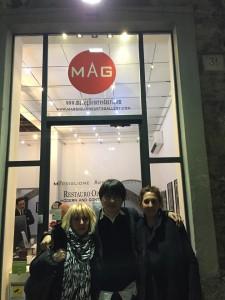 Tomohary Aoyama alla MAG Manga Show