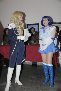 Lady Oscar & Sailor Mercury