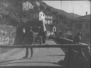 Dongo-Musso sbarramento strada