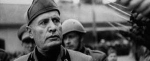 Dongo Benito Mussolini