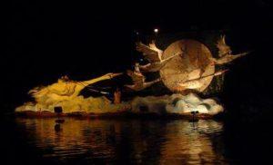 Barca allegorica