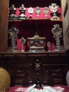 Cattedrale-Reliquari Sagrestia del Capitolo